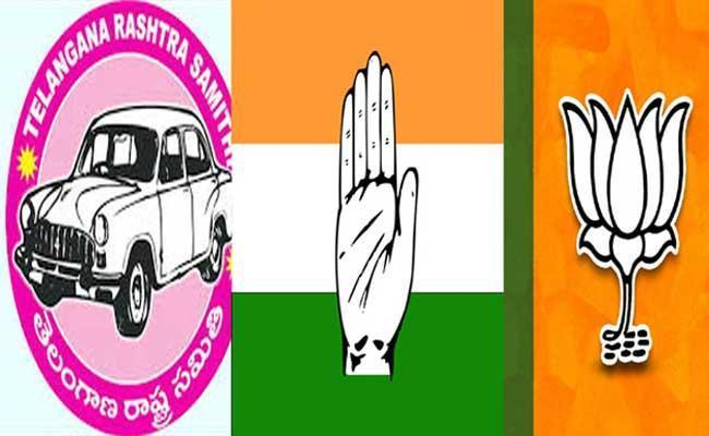 Tough Fight In Dubbaka Bypolls Congress BJP And TRS - Sakshi