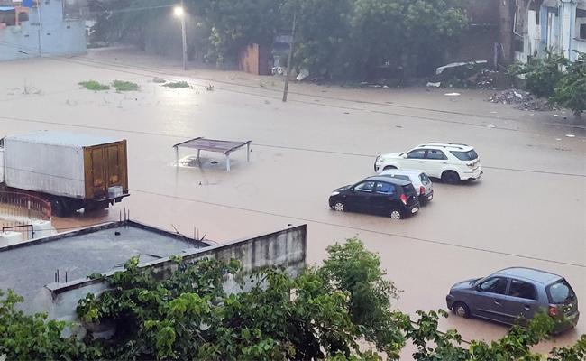 Heavy Rainfall In Nalgonda District - Sakshi
