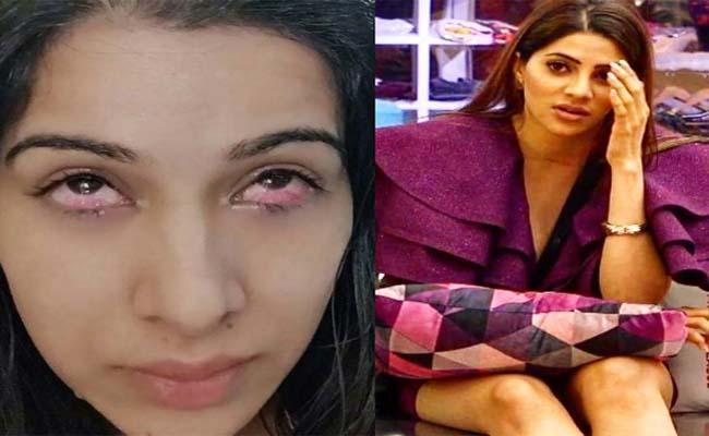 Bigg Boss 14: Sara Gurpal Eye Injury By Nikki Tamboli - Sakshi