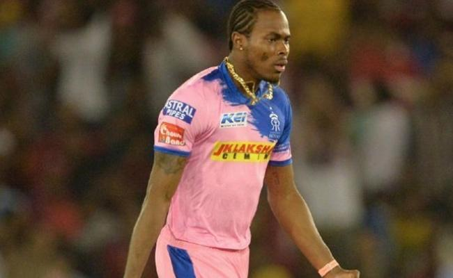 Archer Terrific Bowling In First Spell Against Delhi Capitals Match - Sakshi