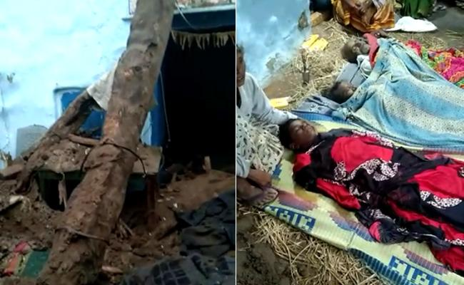 8 Deceased When Wall Collapsed - Sakshi