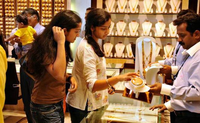 Gold Prices Today Rise In Line With Global Trend - Sakshi