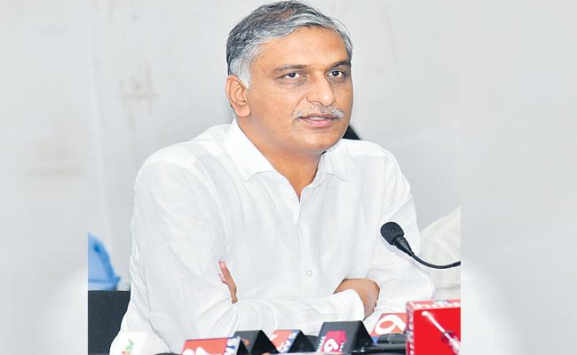 Harish Rao Critics BJP Over Pension Contribution From Central - Sakshi