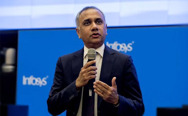 Infosys Q2 results: Net profit rises 21 Pc - Sakshi