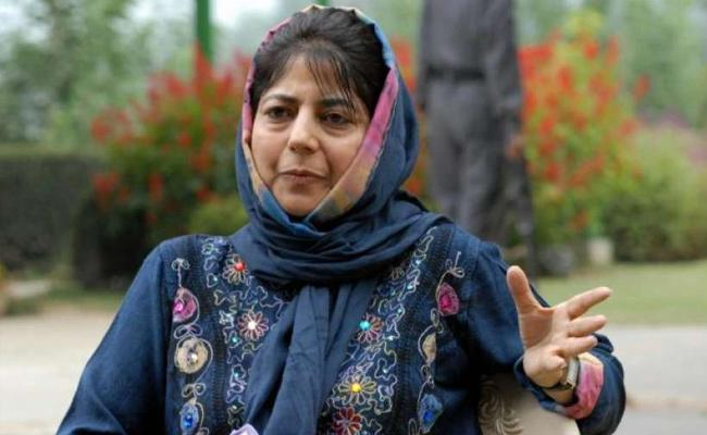 Mehbooba Mufti First Message Cannot Forget the Insult of August 5 - Sakshi