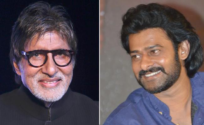 Amitabh Bachchan Shocking Remuneration For Prabhas Film - Sakshi