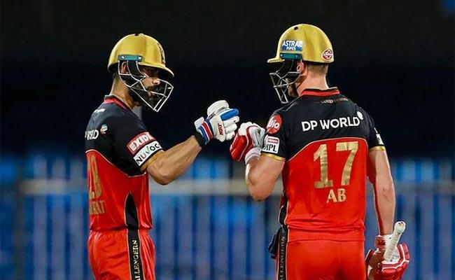 AB de Villiers Jokes About Stealing Bats Of RCB Captain Virat Kohli - Sakshi