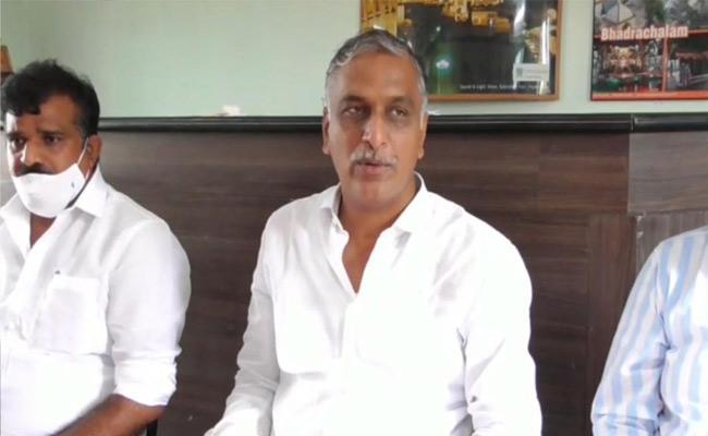 150 BJP Activist Joins In TRS Party Under Harish Rao In Siddipet - Sakshi