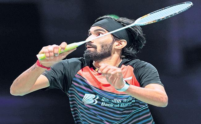 Kidambi Srikanth enters second round in Denmark Open 2020 - Sakshi