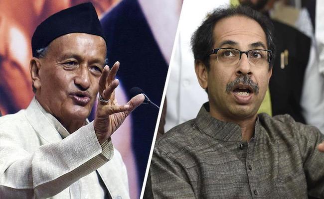 Shiv Sena slams Maharashtra Governor Bhagat Singh Koshyari - Sakshi