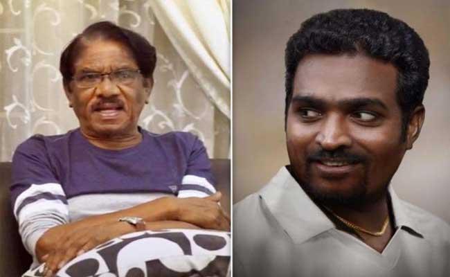 Bharathiraja Asks Vijay Sethupathi To Avoid Muralitharan Biopic - Sakshi