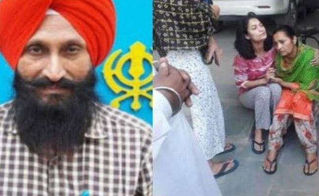 Balwinder Singh, who fought against terrorism shot dead in Punjab - Sakshi