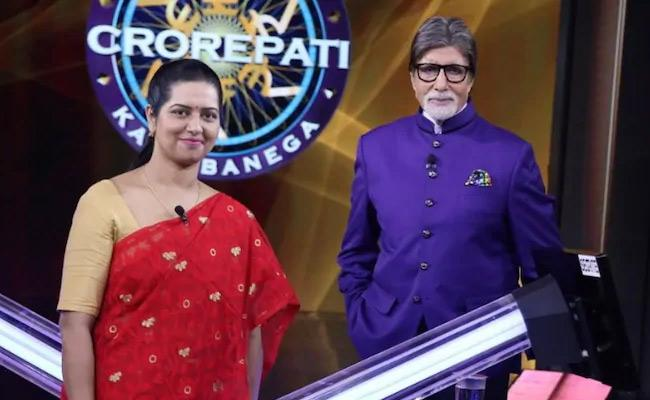 1st Contestant To Reach Hot Seat Without Fastest Fingers First In KBC - Sakshi
