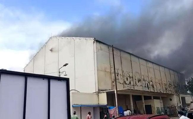 Fire Accident At Annapurna Studios In Hyderabad - Sakshi