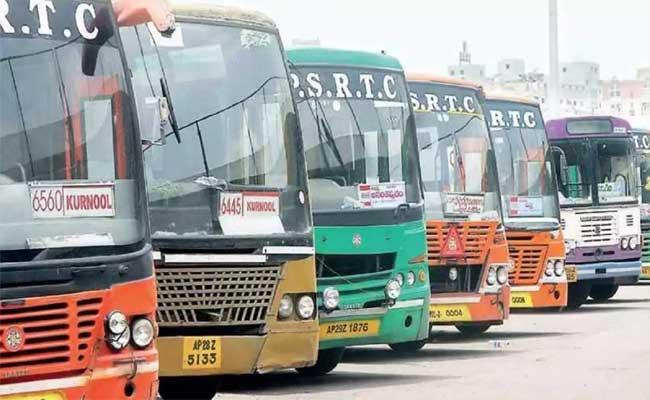 APSRTC To Run 1850 Special Buses For Dasara - Sakshi