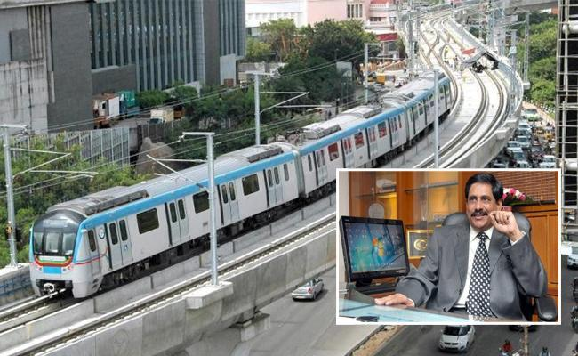 Hyderabad Metro Discount In Charges During Festive Season - Sakshi