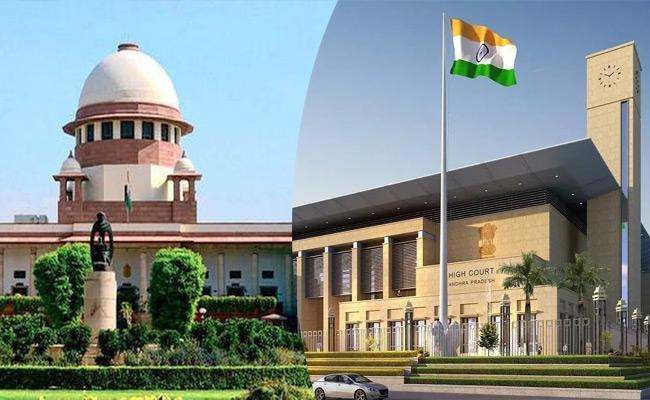 Advocate Koteswara Rao Approach Supreme Court On AP HC - Sakshi