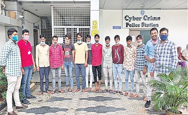Hyderabad Cyber Crime Police Adventure In Rajasthan - Sakshi