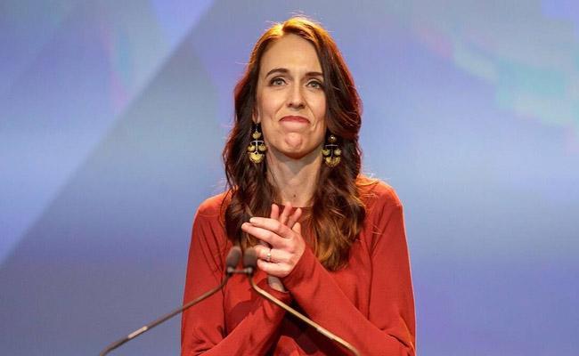 Jacinda Ardern wins landslide victory in New Zealand election - Sakshi