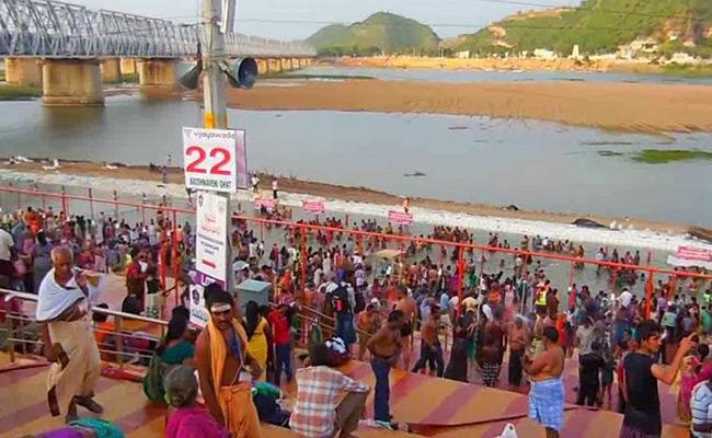 Tungabhadra Pushkaralu Begin November 20 In AP Works Speed Up - Sakshi
