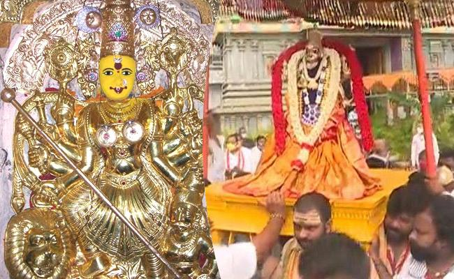 Navratri 2020: Nine Avatars Of Durga Maa - Sakshi