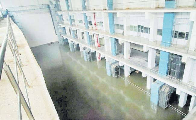 KLI Project First Lift Motors Were Submerged In Water At Mahabubnagar - Sakshi