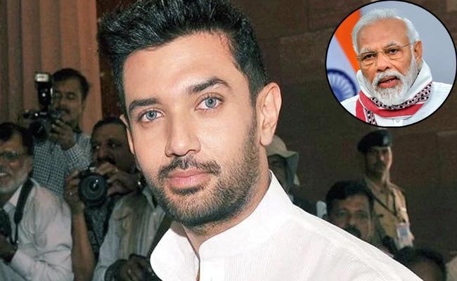 Bihar Polls: PM Modi Under Pressure From Nitish Says Chirag Paswan - Sakshi