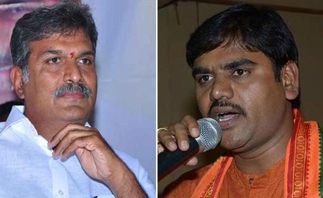 Vishnuvardhan Reddy Comments On Kesineni Nani - Sakshi
