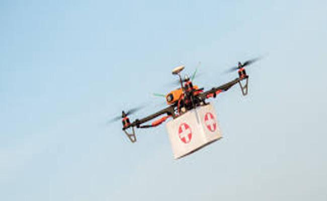 UK Space Agency backs medical drone delivery project - Sakshi