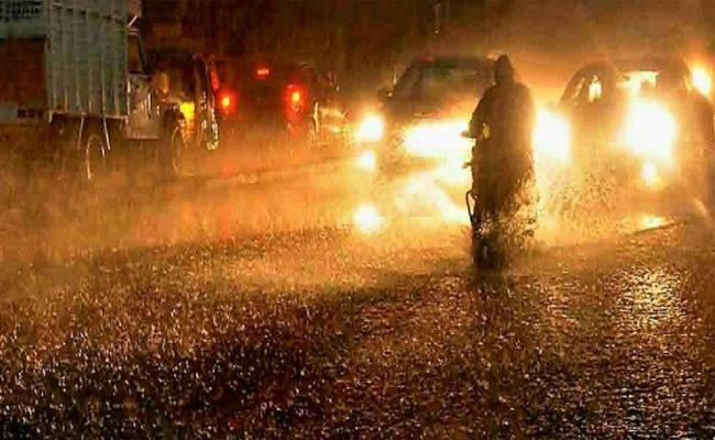 Heavy Rain In Hyderabad For Upcoming Three Days - Sakshi