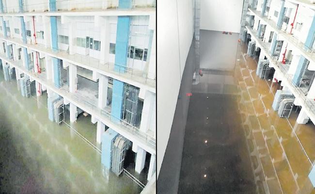 Blasting Might Cause KLI Motors Submerged At Palamuru Project - Sakshi