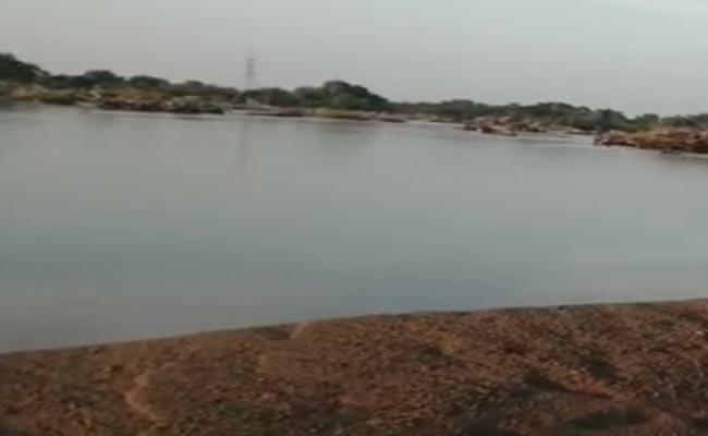 Mother And Son Were Deceased Due To Accidentally Fell Into Maneru Vagu - Sakshi