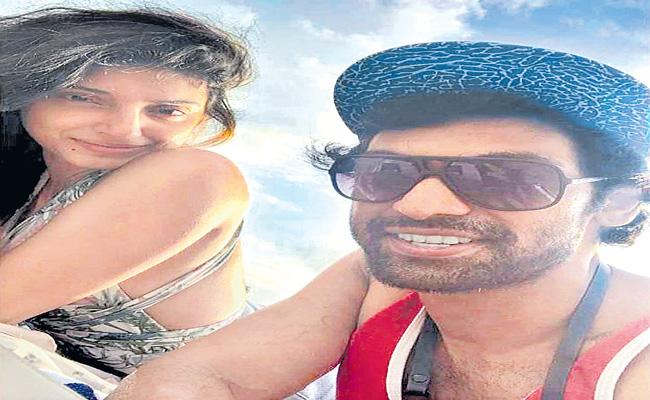 Rana Daggubati and Mihika Bajaj photo went viral Social Media - Sakshi