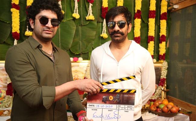 Ravi Teja New Movie Khiladi Starts On Sunday At Hyderabad - Sakshi