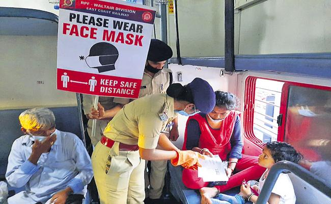 Railway security force new program for female passengers safety - Sakshi