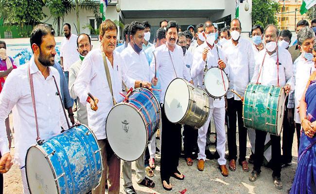 BC Welfare Minister Venugopalakrishna announced the list of BC chairmens - Sakshi