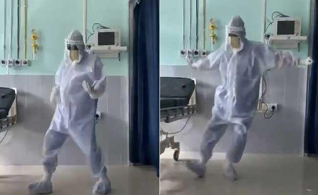Assam Doctor Dances To Ghungroo To Cheer Up Covid Patients - Sakshi