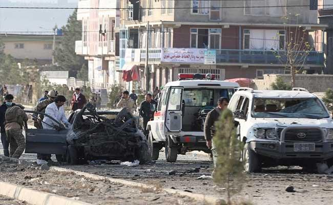 12 Deceased Dozens Wounded In Car Bomb Attack In Afghanistan - Sakshi