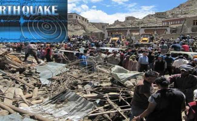 Earthquake Of Magnitude 3.6 Hits Ladakh - Sakshi