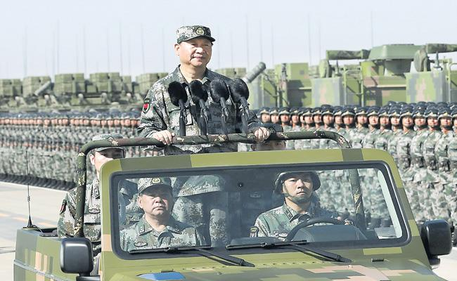 Chinese forces prepare for possible military invasion of Taiwan - Sakshi