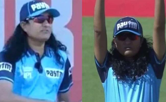 Netizens Memes On Umpire Paschim Pathak Unique Hairstyle - Sakshi