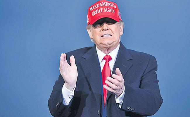 May have to leave the country if I lose says Donald Trump - Sakshi