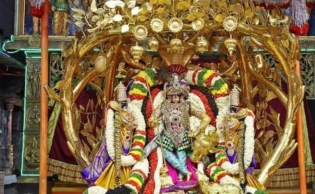 Tirupati Brahmoostavam Fourth day Malayappa Avatar - Sakshi