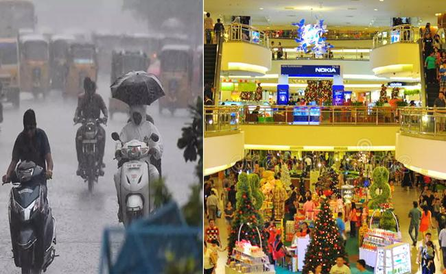 Heavy rains, covid19 impact on 2020 Dussehra business - Sakshi