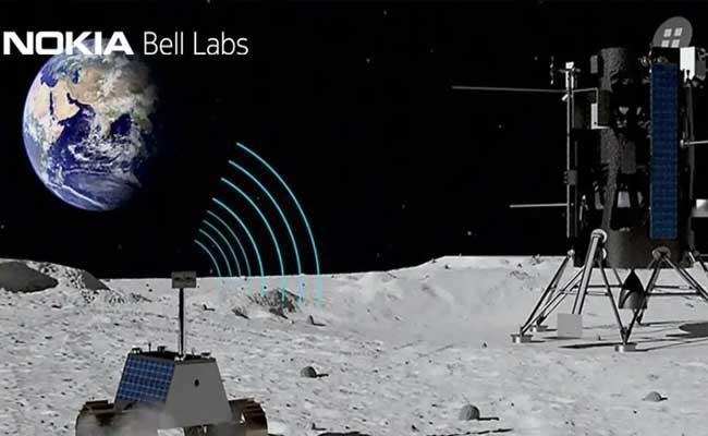 NASA Awards Nokia Contract To Set Up 4G Network On Moon - Sakshi
