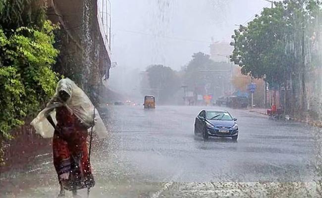 Heavy Rain Started In Hyderabad Again - Sakshi