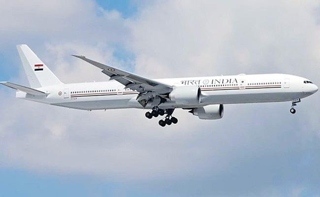 First custom-made VVIP aircraft Boeing 777 Air India One - Sakshi