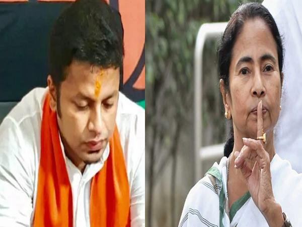 BJP leader who threatened to hug Mamata Covid-19 tests positive - Sakshi