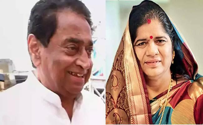Kamal nath controversial comments on Imarti Devi - Sakshi