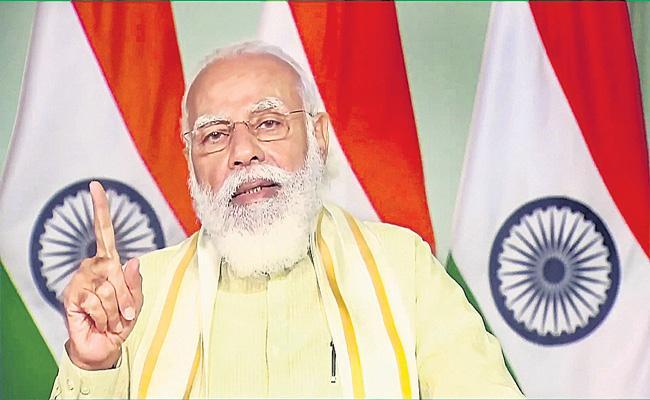 PM Narendra Modi addresses Centenary Convocation at Mysore University - Sakshi